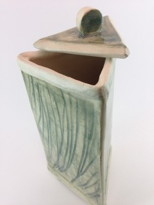 Covered jar by Tammy Judd Jenny