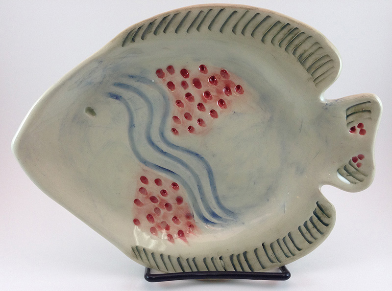 Tammy Judd Jenny - Fish Plate