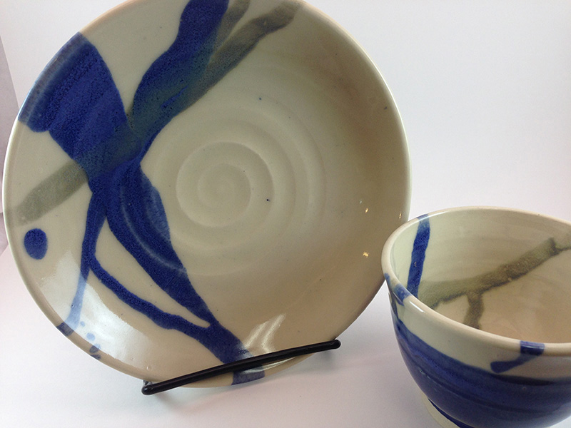 Tammy Judd Jenny - Plate and small bowl