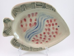 Fish Plate by Tammy Judd Jenny